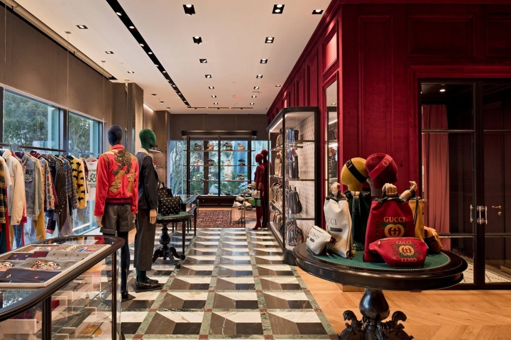 GUCCI opens new store in Miami Design District by Alessandro Michele