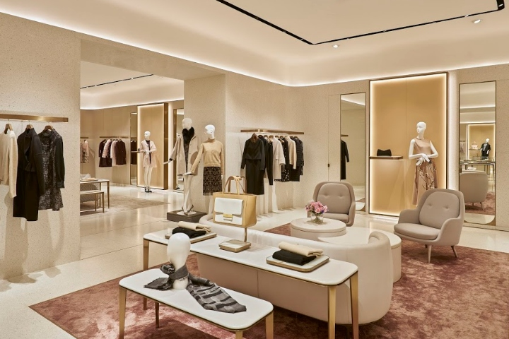 V Grass flagship fashion boutique by PMDL Architecture + Design