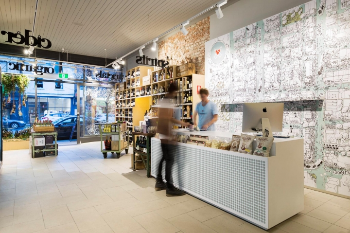 Wine Republic store in Windsor by Red Design Group