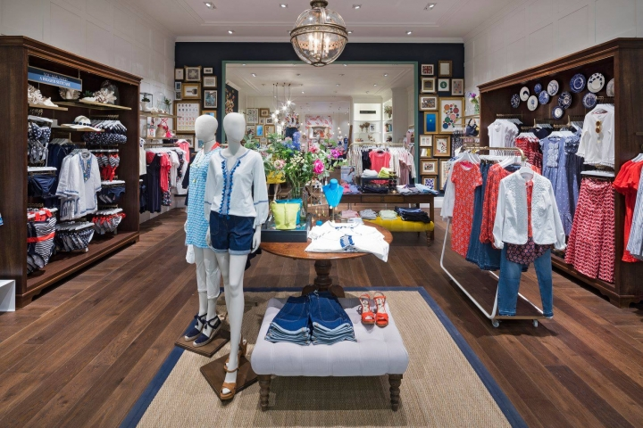Boden fashion store with eclectic heritage concept by Dalziel & Pow