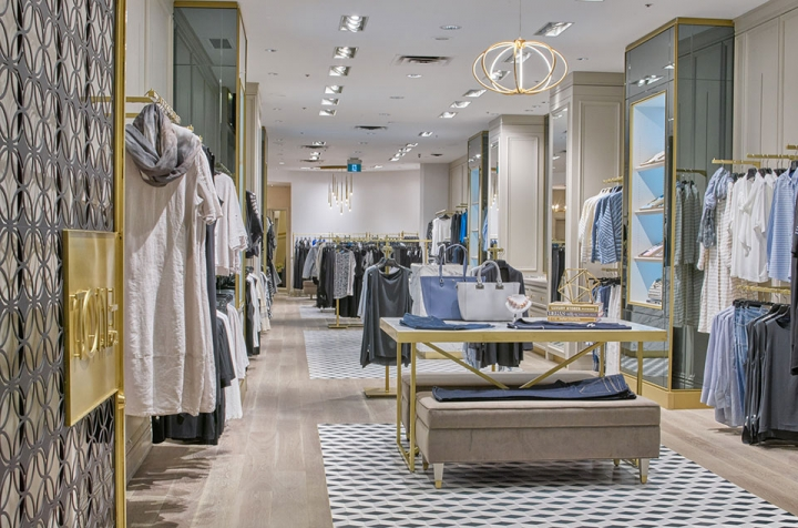 Toni Plus the plus-size retail store interior by Divia La Penna Design Studio