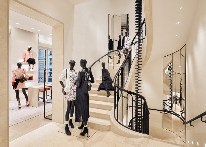 Chanel opened a major new flagship in Paris