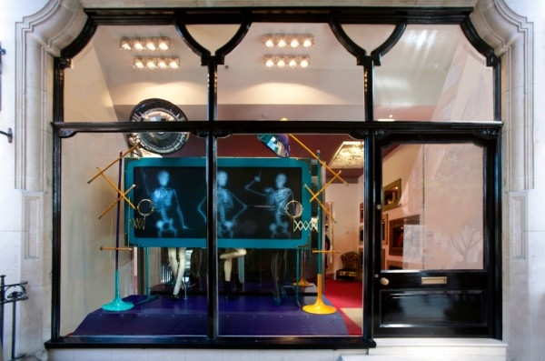 Louboutin's X-Ray Window Autumn Winter  2012