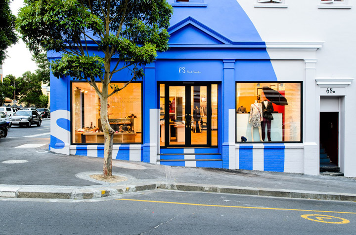 Paul Smith diffusion shop interior in Cape Town