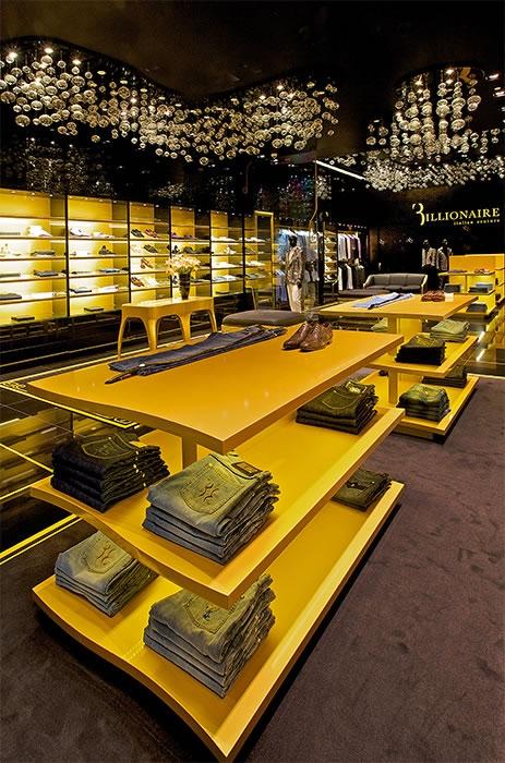 Billionaire Italian Couture Stores