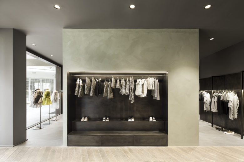 DOU DOU Kids store in Milano by Muus Architects