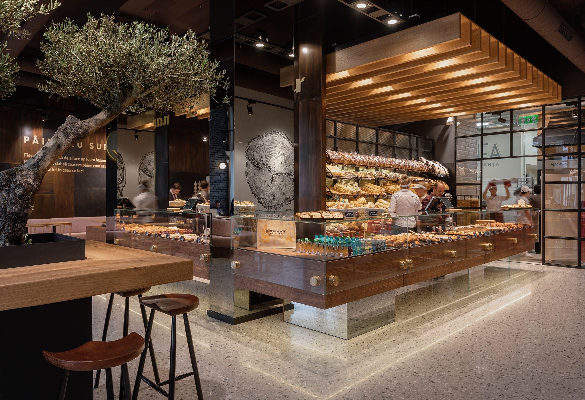 Panemar bakery in Oradea by Todor Cosmin & Team
