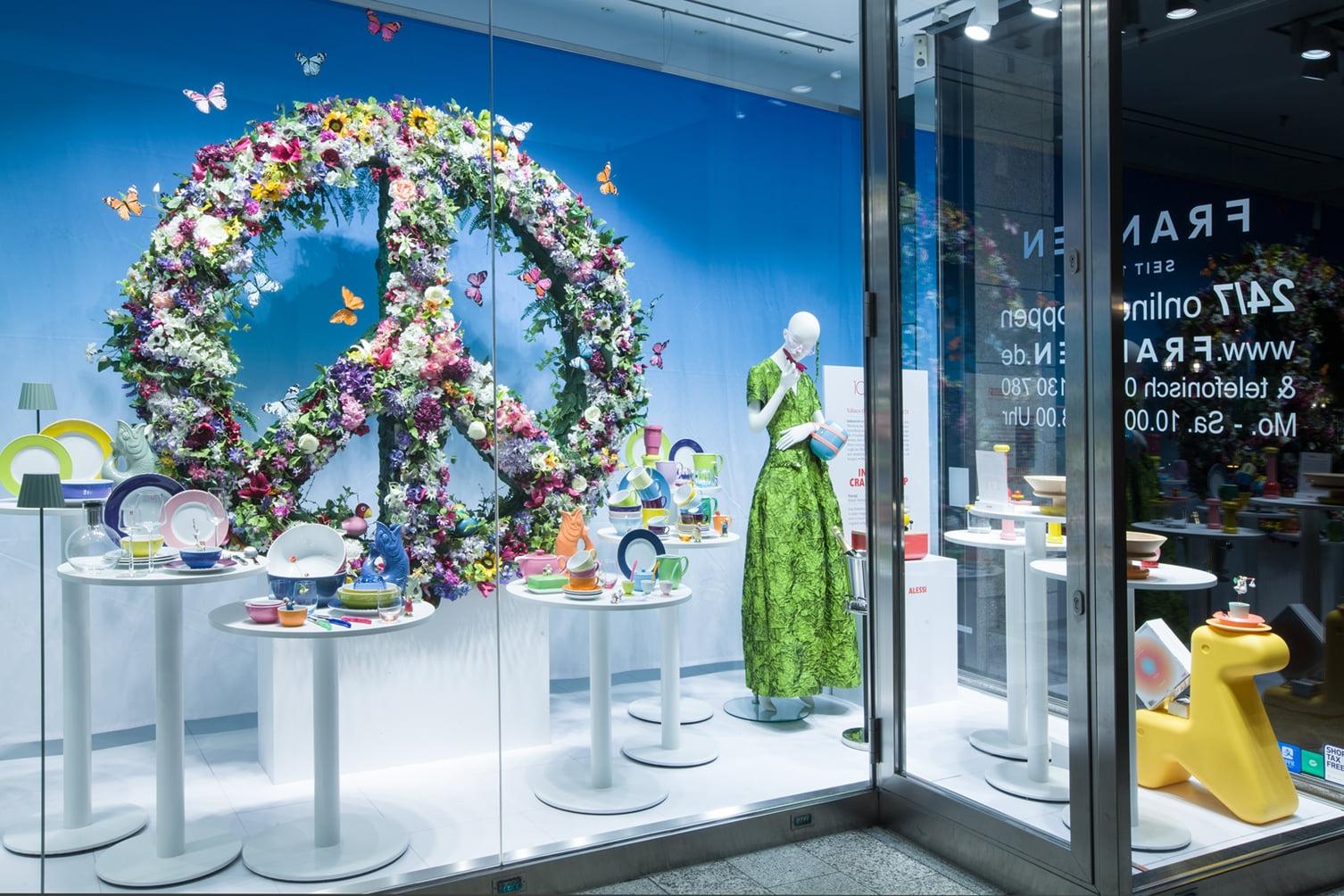 LOVE & PEACE at Franzen concept store Düsseldorf - Spring 2021