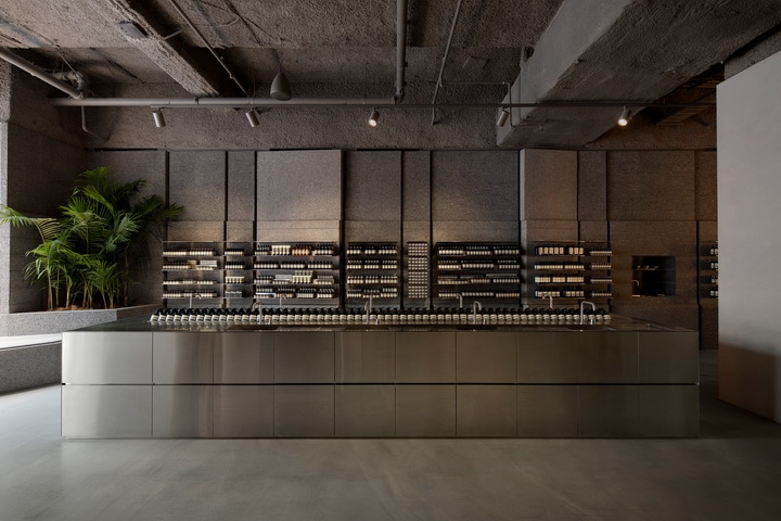 Aesop store in Sydney by Snøhetta  architects
