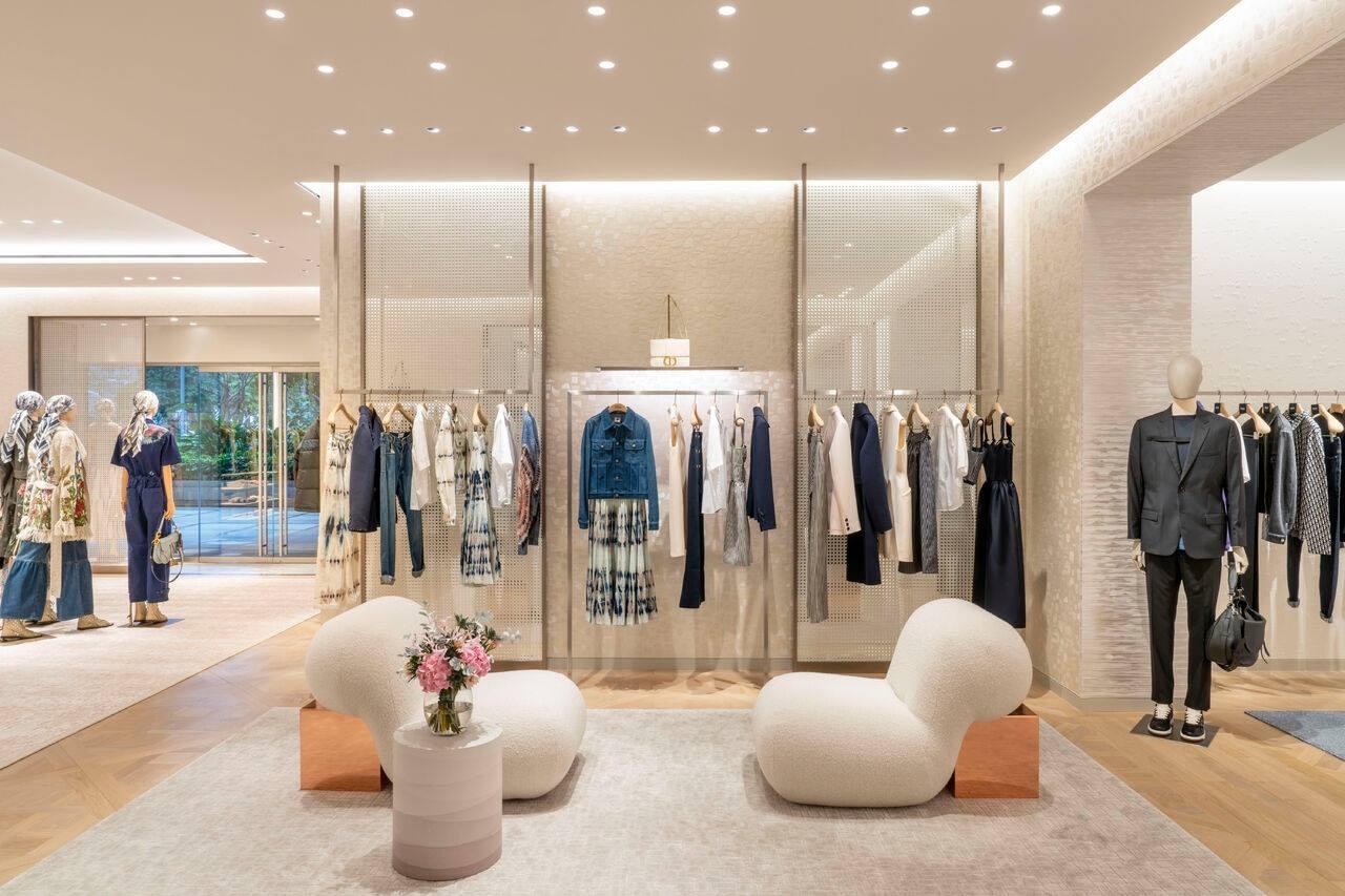 Dior store at Pacific Place Mall - Hong Kong