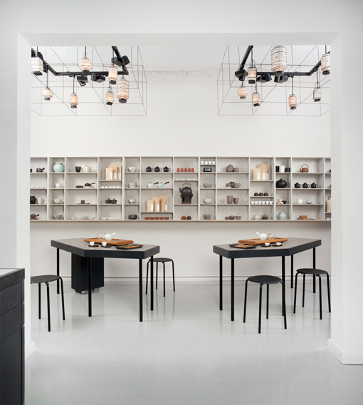 P & T store interior Berlin
