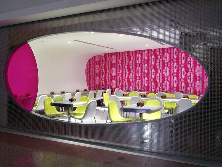 Nooch Express restaurand concept Singapore -Karim Rashid design