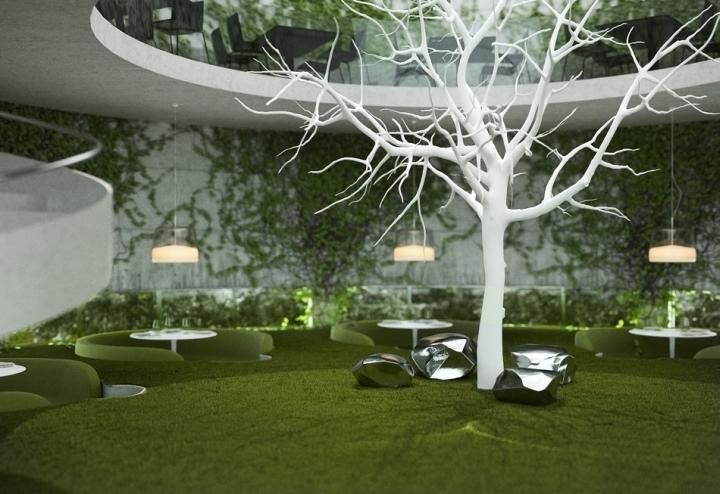 Tea Garden Restaurant Concept