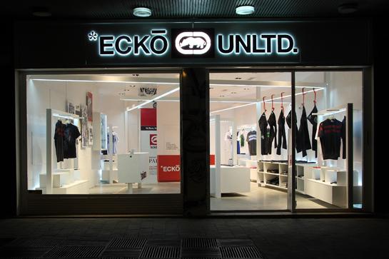 Ecko Unltd. flagship store