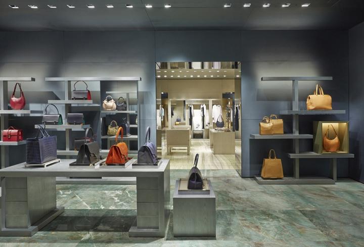 Giorgio Armani store concept in Paris