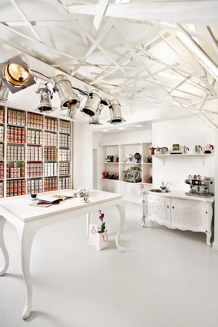 Illy boutique design by Studio Belenko, Odessa – Ukraine