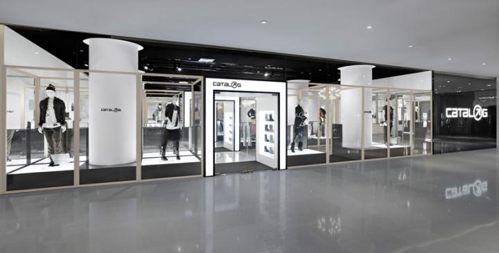 Nendo Architects Catalog sportwear store design