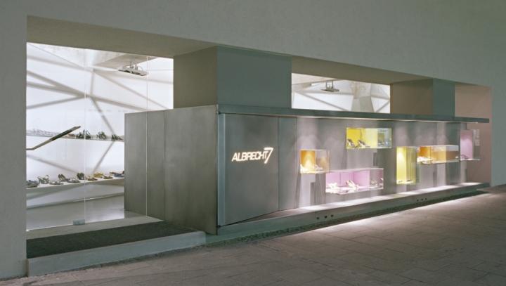 Albrecht 7exquisite shoes shop retail design