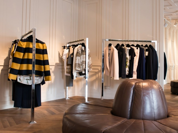 Mauro Grifoni store design  by Framework Architects