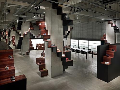 Puma house in Tokio- designed by Nendo Studio