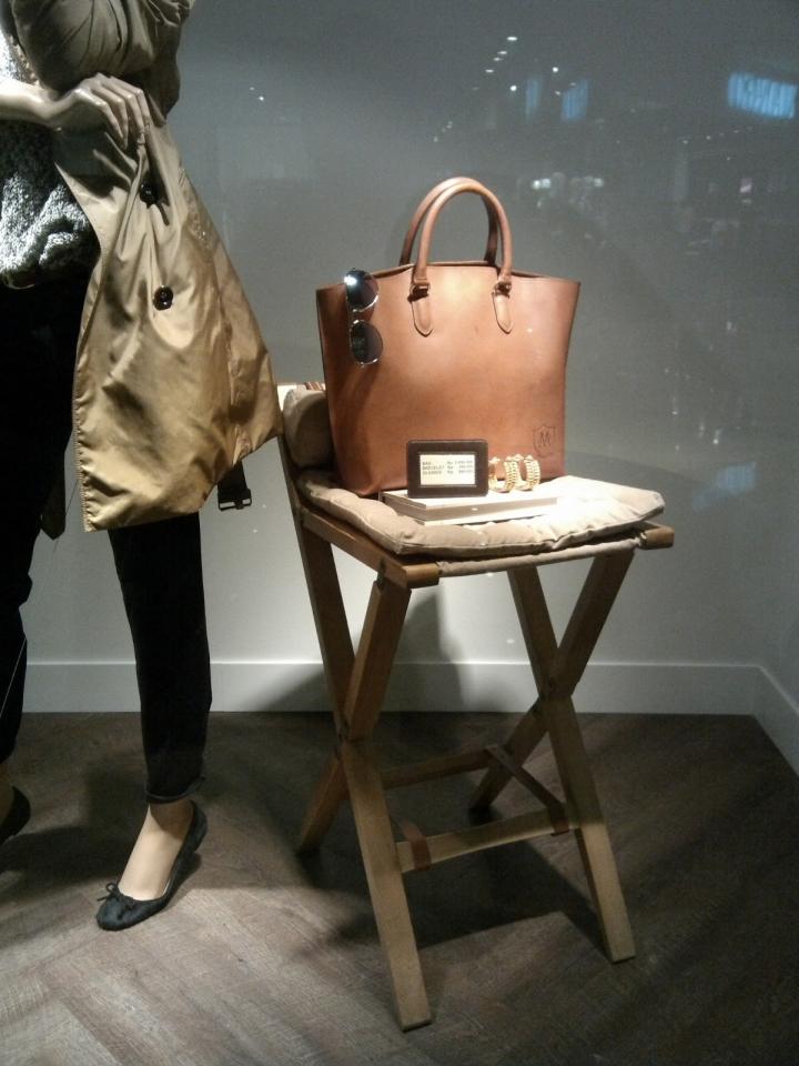 The chic shop windows: Massimo Dutti