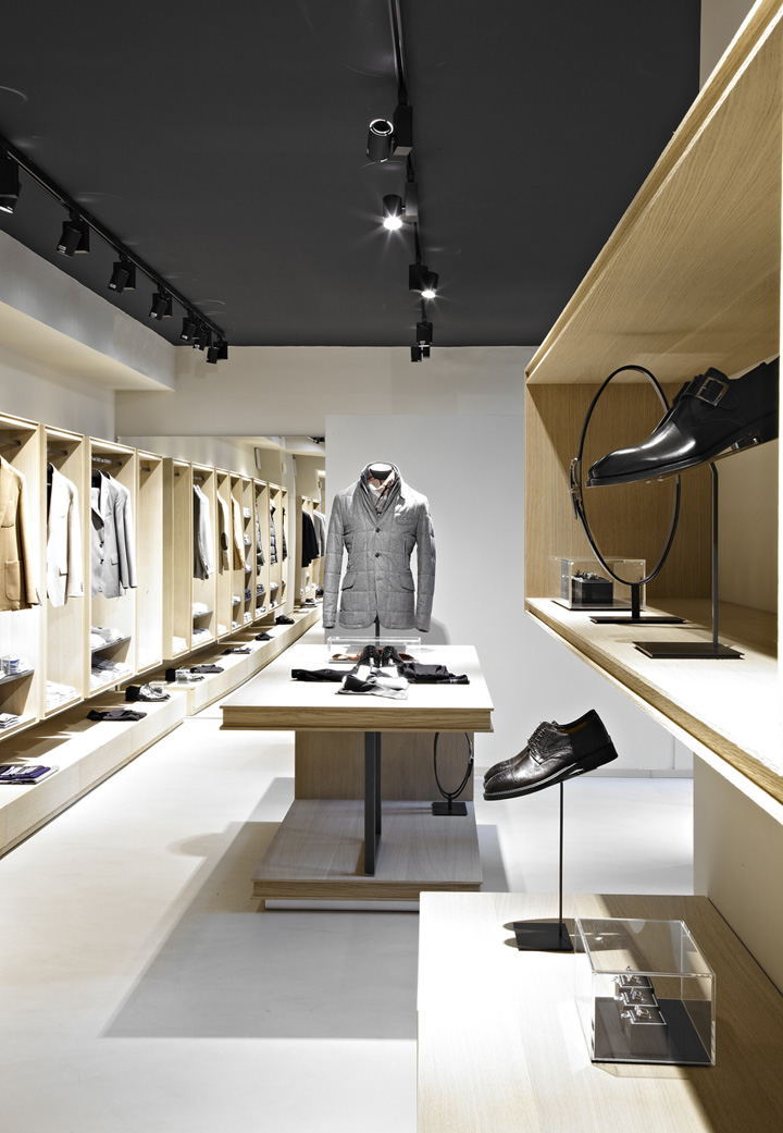 Angelico flagship store by Davide Volpe & Luca Malavolta, Milan