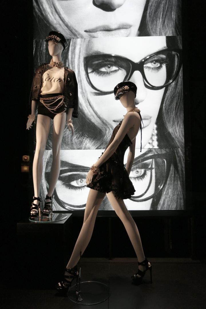 DSQUARED2 windows concept Paris & Milan