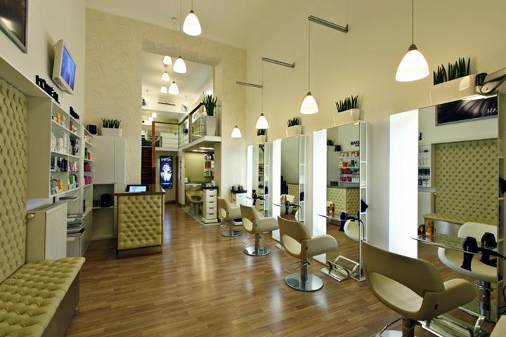 Kucsera Hair Salon by Bulcsu Tamás & Herczeg Tamás, Budapest