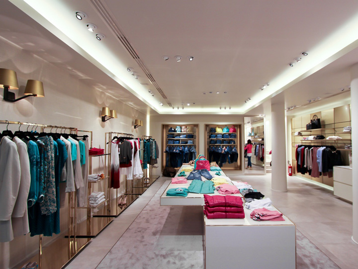 LIU•JO store by Christopher Goldman Ward- italy