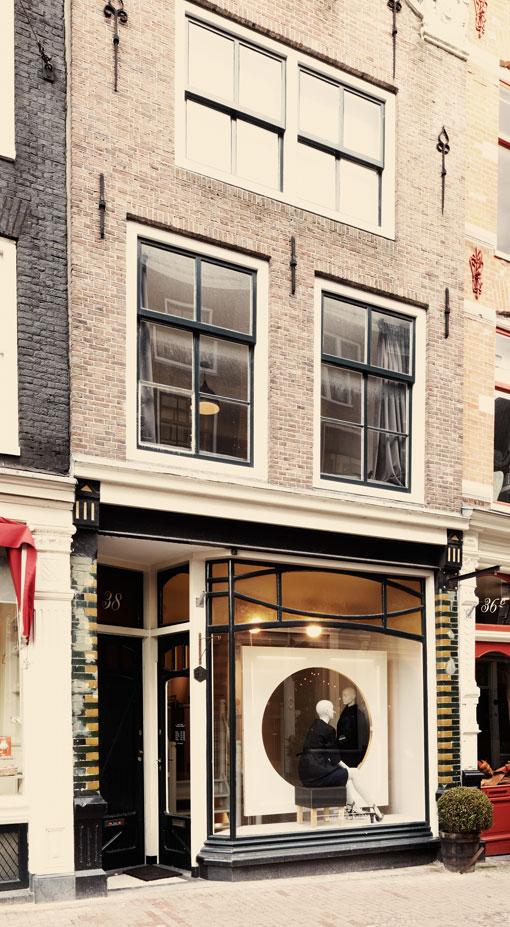 orson + bodil minimalist store opening Amsterdam