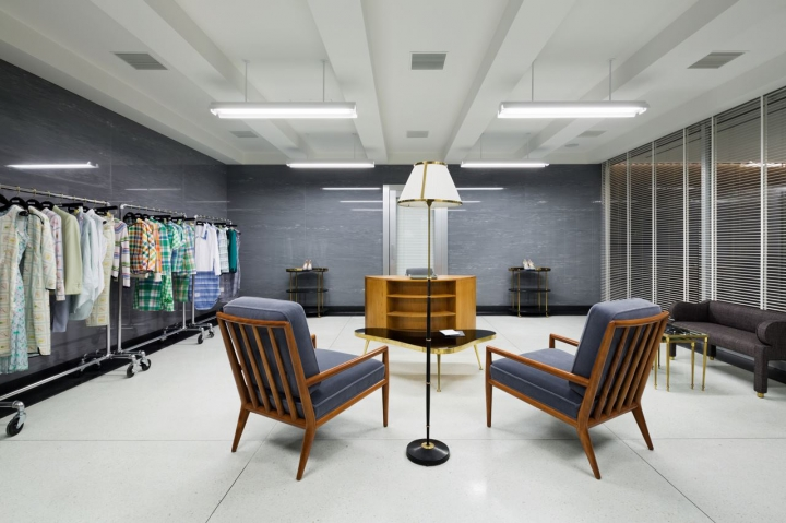 Thom Browne flagship store in  Aoyama Japan