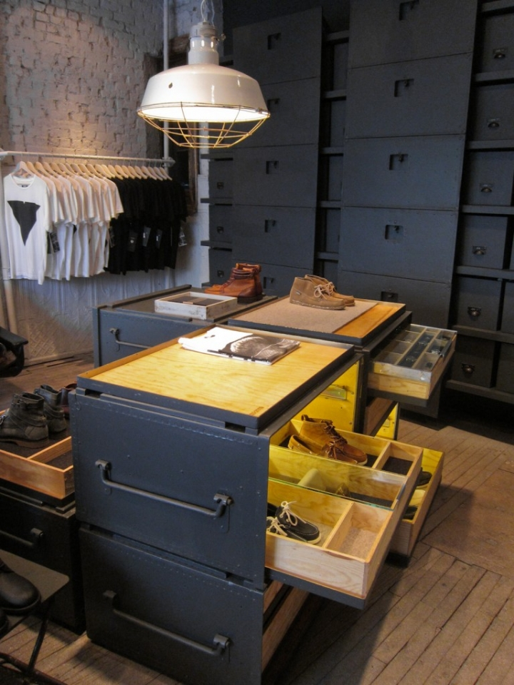 Vane X Sebago concept store in New York