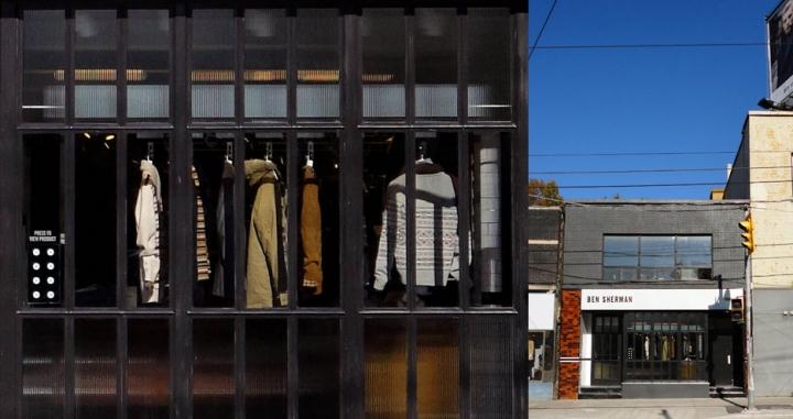Ben Sherman flagship store by Brinkworth, London