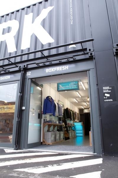 Boxfresh Pop Up shop