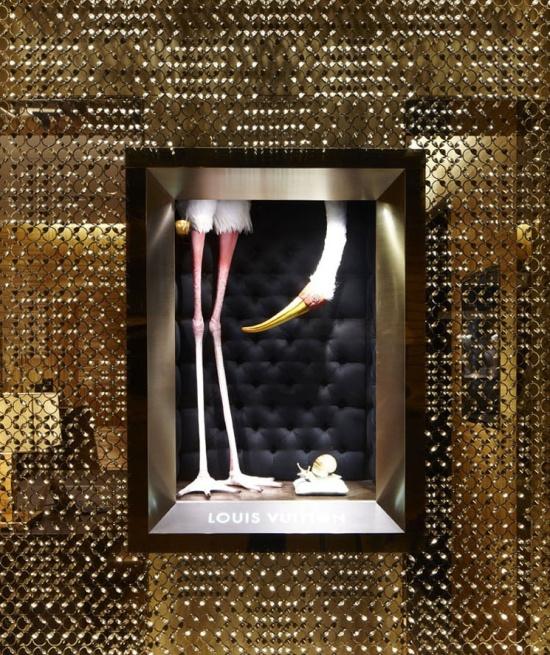 Luis Vuitton shadow boxes
