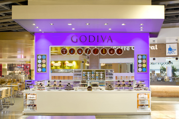Godiva 'Truffle Express' kiosk by dash design