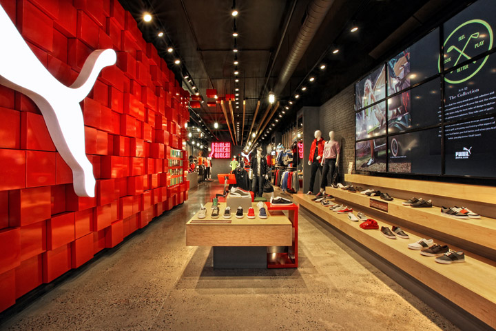 PUMA SoHo Store by Colkitt & Co and Plajer & Franz, New York