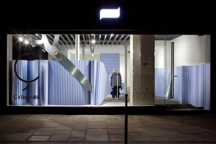 The team CuldeSac Retail Design - Ç x Faconnable