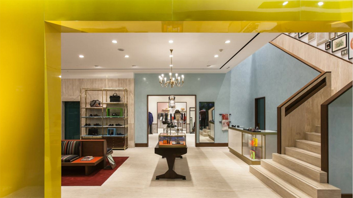 Paul Smith flagship store visual merchandising, Beijing