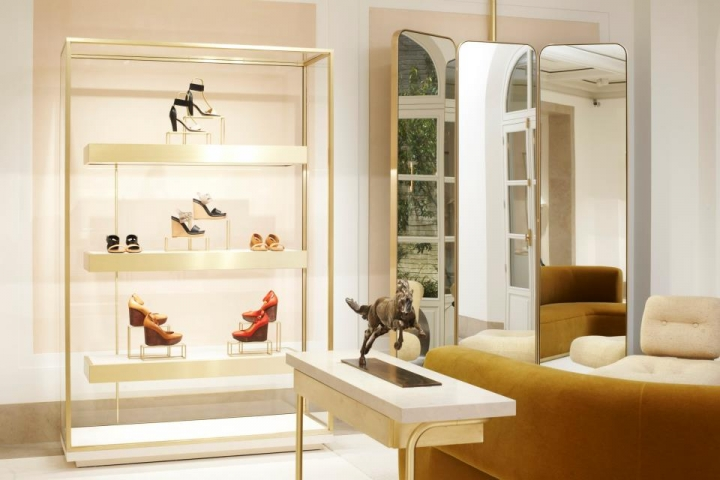 Chloé Maison Saint-Honoré in Paris- the new flagship store
