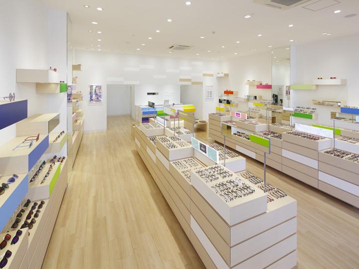 Eyewear Shop Zoff by Emmanuelle Moureaux