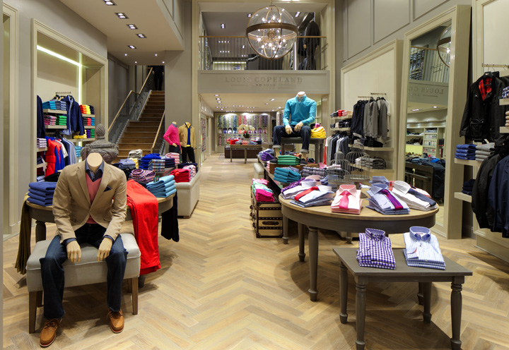 Louis Copeland & Sons store by Jennings design studio & Helen Turkington, Dublin