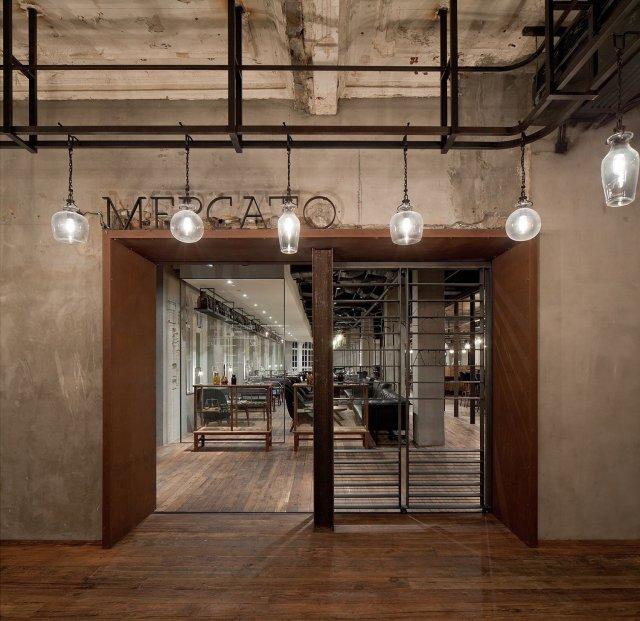 Mercato Restaurant by Neri&Hu in Shanghai, China