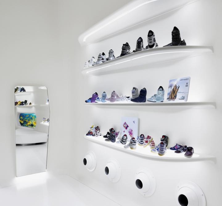Mini Munich kid store concept by Dear Design