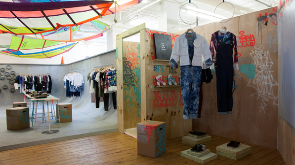 Beach In The East Pop Up Store London