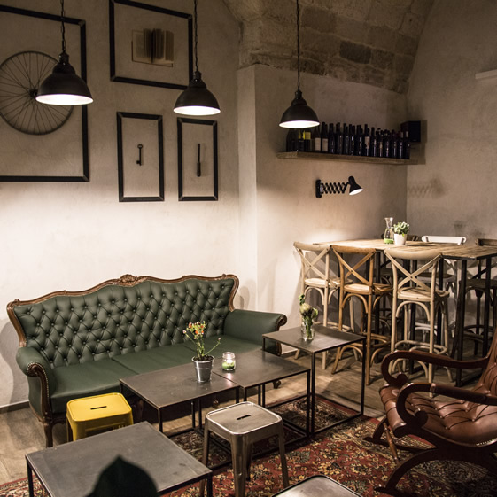 Sale in Zucca bar in Bitonto Italy