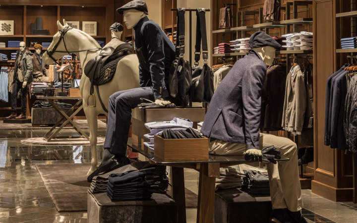 Massimo Dutti store 2012 at Fifth Avenue, New York