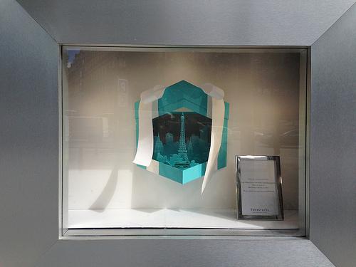 Tiffany flagship Champs Elysées