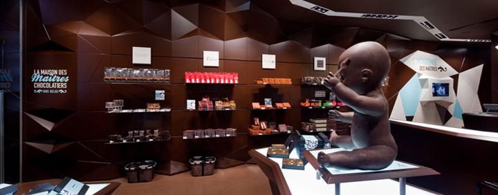 Maison des Maîtres Chocolatiers Belges by Minale Design Strategy