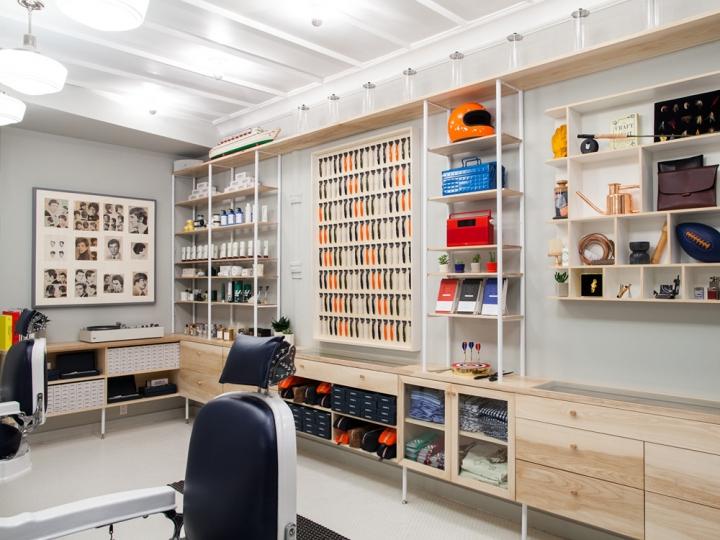 "Inside Harry's ""The Corner Shop"" Barbershop in SoHo"